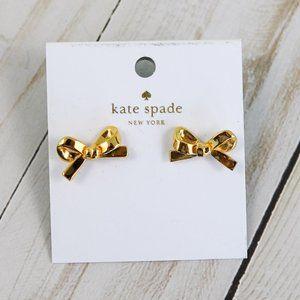 Kate Spade Skinny Mini Bow Stud Earrings